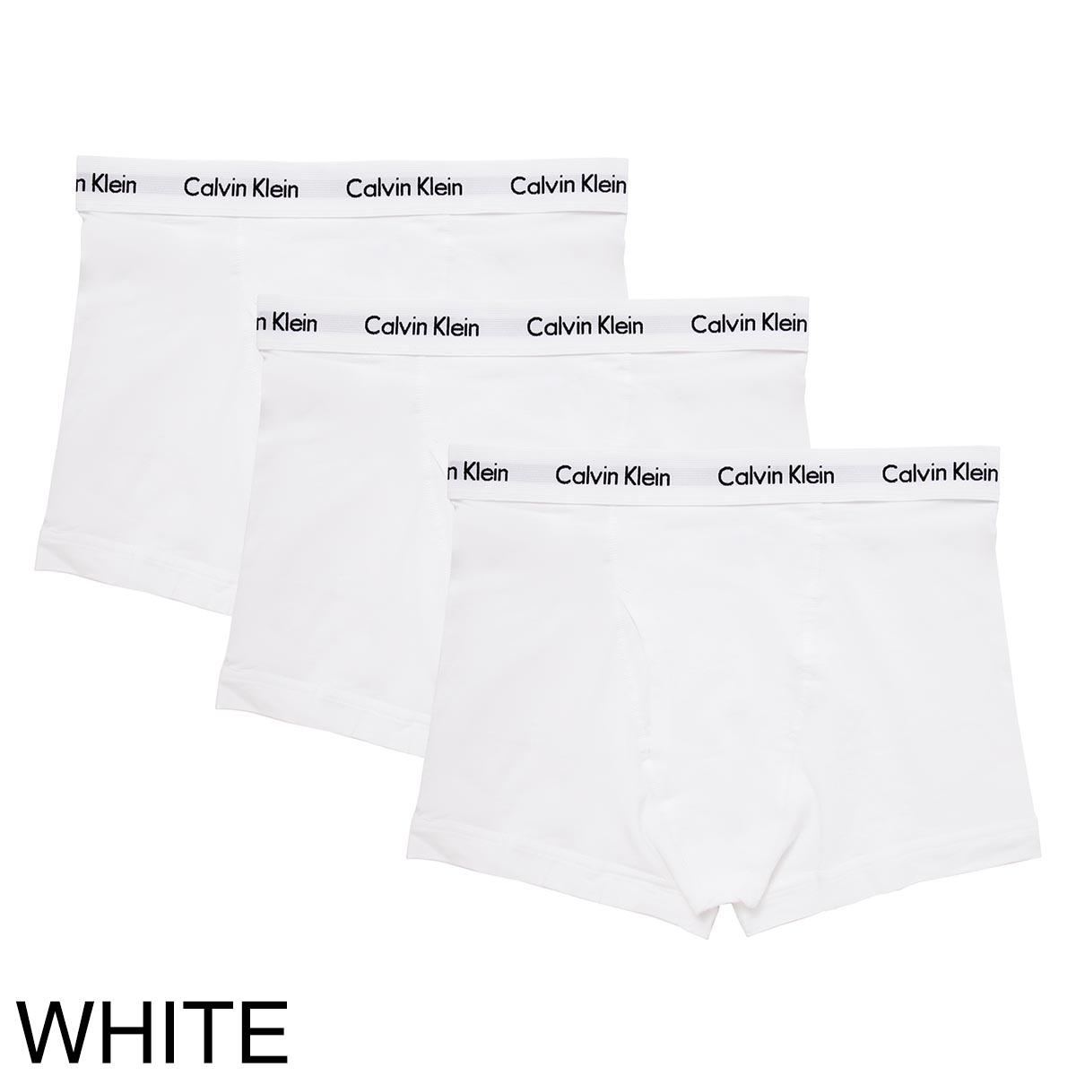 Calvin Klein カルバンクライン ボクサーパンツ 3枚セット/CLASSIC FIT 3 TRUNK【返品交換不可】 メンズ