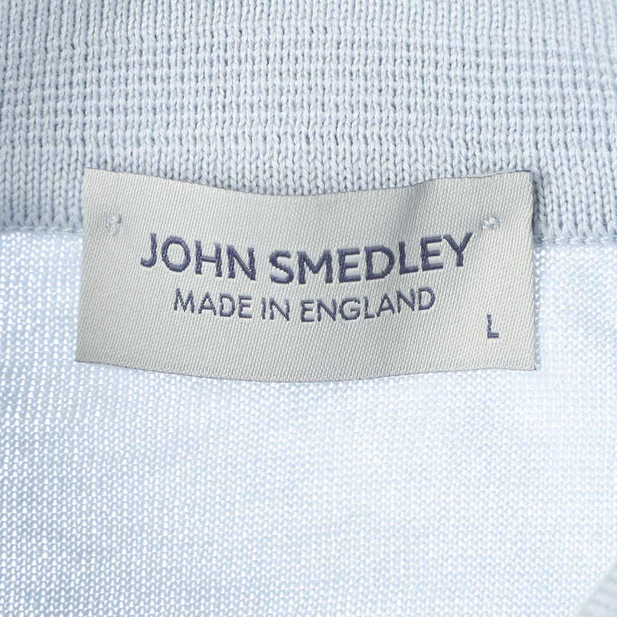 【アウトレット】JOHN SMEDLEY ジョンスメドレー ニットポロシャツ/RHODES 30ゲージ メンズ