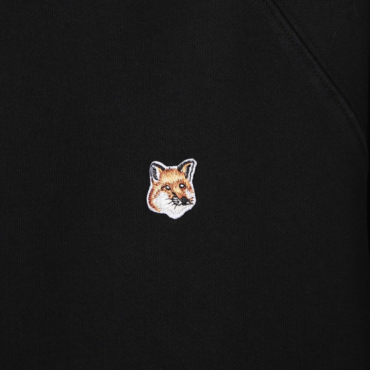 MAISON KITSUNE メゾンキツネ スウェットシャツ/SWEATSHIRT FOX HEAD PATCH メンズ