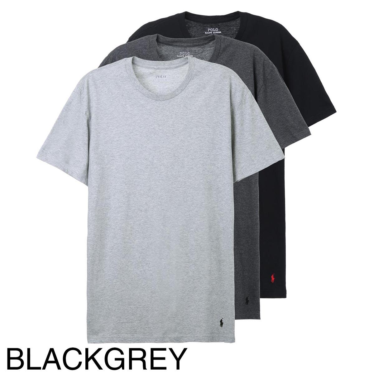 POLO RALPH LAUREN ポロラルフローレン クルーネックTシャツ 3枚セット/3枚組/CLASSIC FIT【返品交換不可】 メンズ