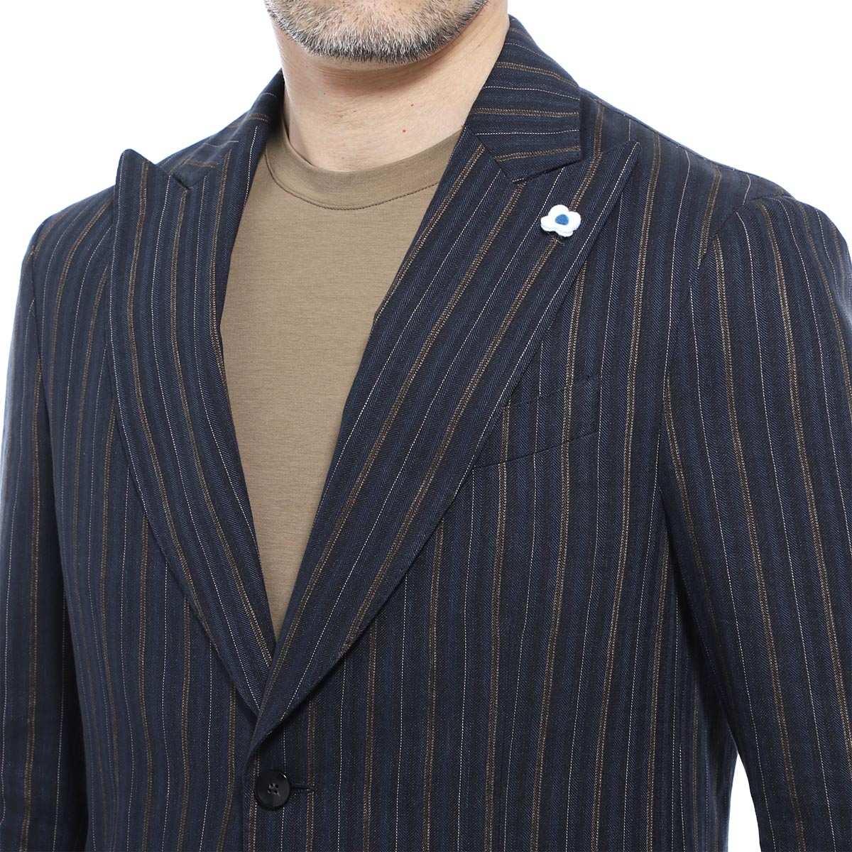 【タイムセール TOPS】【アウトレット】LARDINI ラルディーニ 2つボタンジャケット メンズ