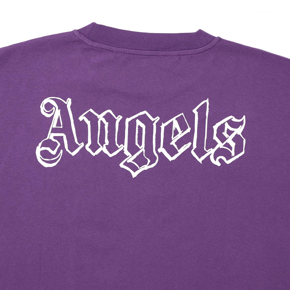 【アウトレット】PALM ANGELS パーム エンジェルス Tシャツ/BLANK LOGO OVER TEE メンズ