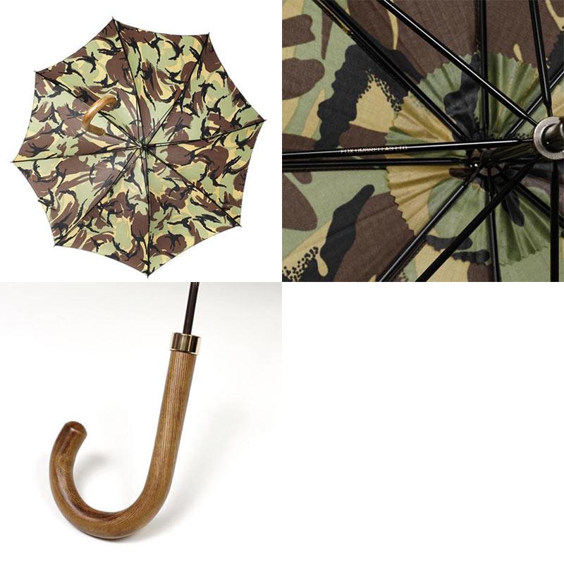 FOX UMBRELLAS フォックスアンブレラズ 傘/GT1 Polished Hardwood Handle Umbrella メンズ