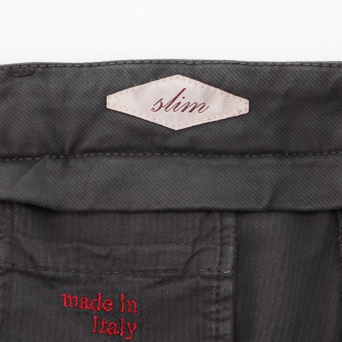 【タイムセール BTMS】BRIGLIA 1949 ブリリア ノープリーツ コットンパンツ/チノパン/BG03T SLIM FIT メンズ