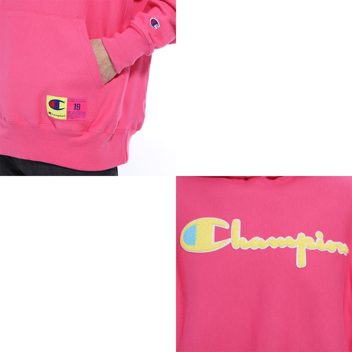 【アウトレット】Champion チャンピオン スウェットパーカ/REVERSE WEAVE HOODIE CHENILLE LOGO メンズ