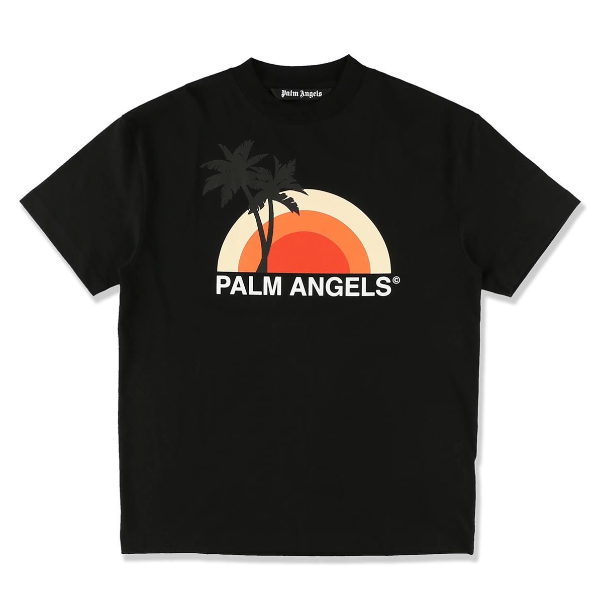 PALM ANGELS パーム エンジェルス クルーネックTシャツ/SUNSET TEE メンズ