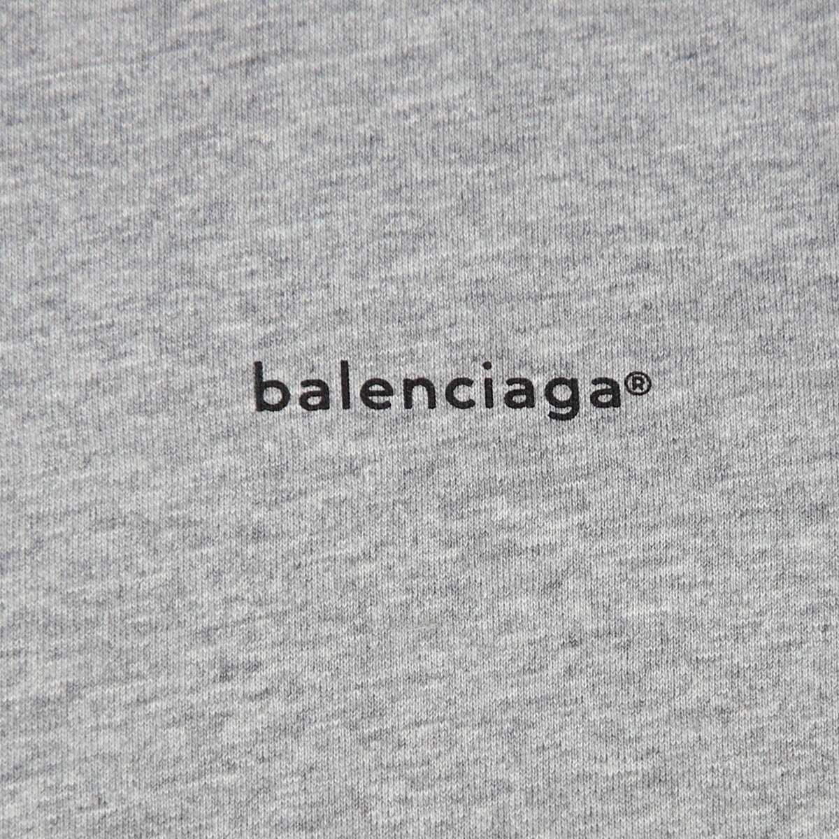 BALENCIAGA バレンシアガ クルーネック 半袖Tシャツ メンズ