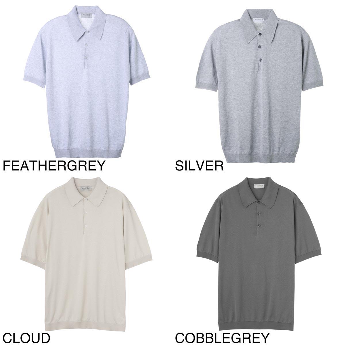 JOHN SMEDLEY ジョンスメドレー ポロシャツ/ISIS イシス 30ゲージ メンズ