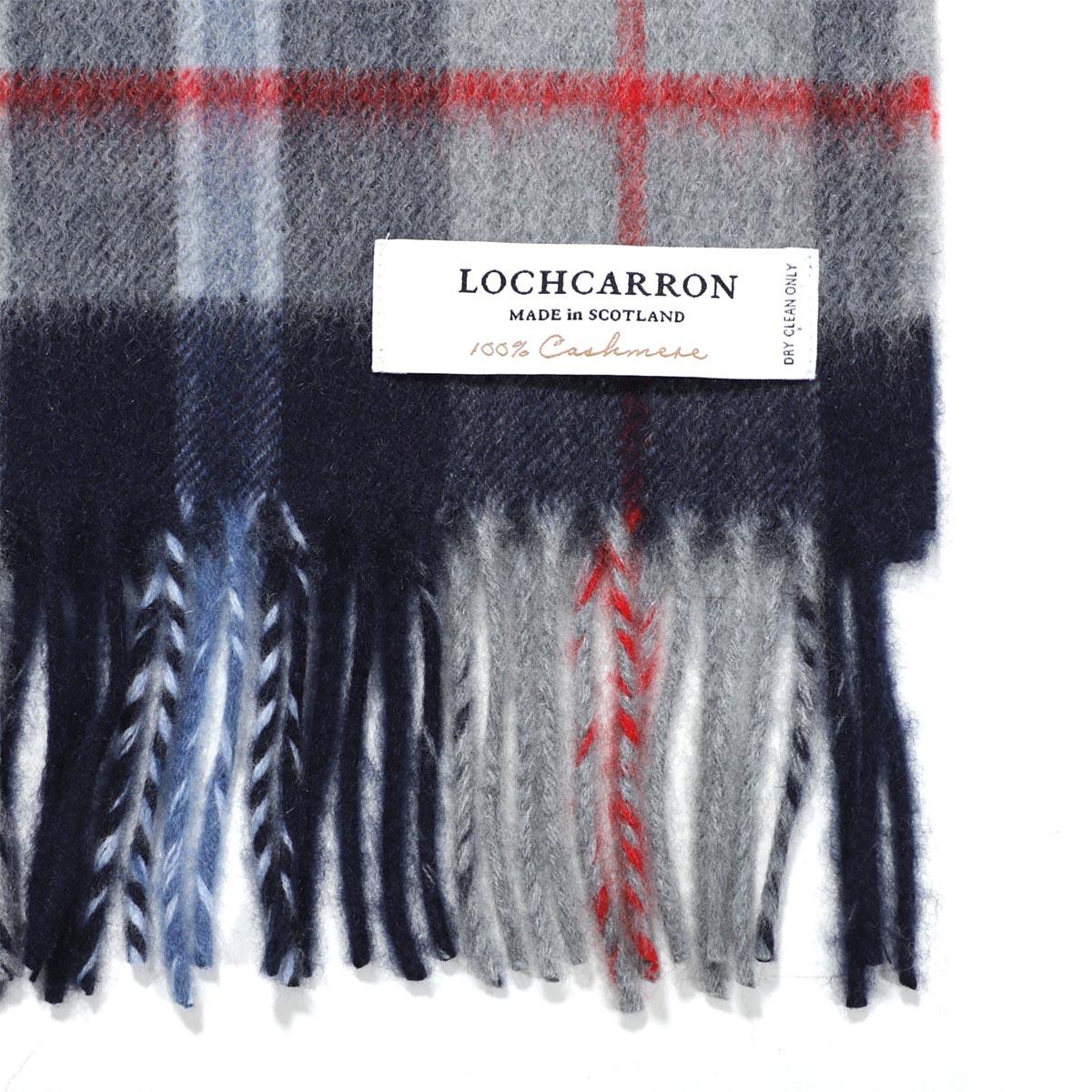【タイムセール ACCS】LOCHCARRON OF SCOTLAND  ロキャロン カシミア マフラー/2123A レディース