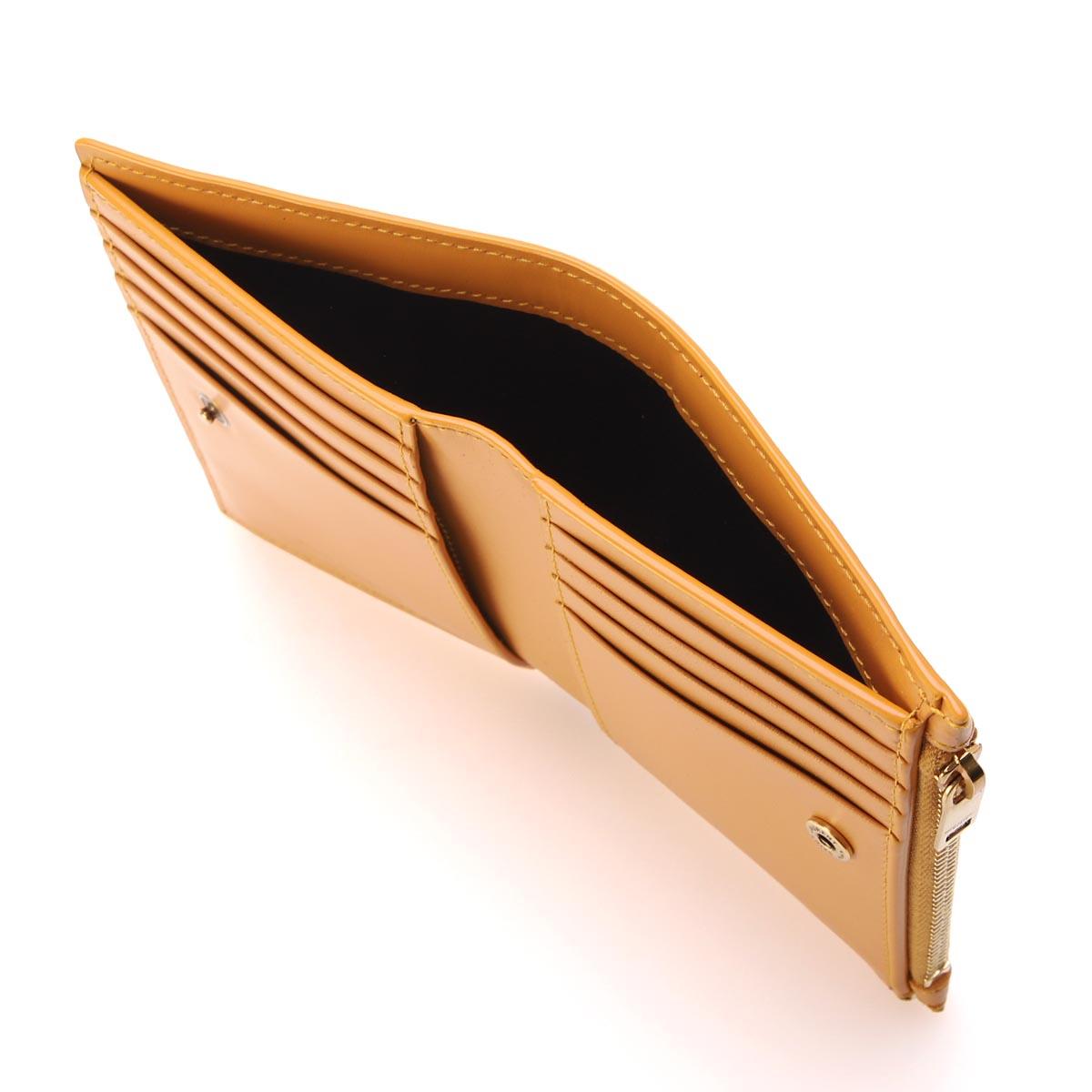 【タイムセール】SAINT LAURENT サンローラン 2つ折り財布 小銭入れ付き レディース