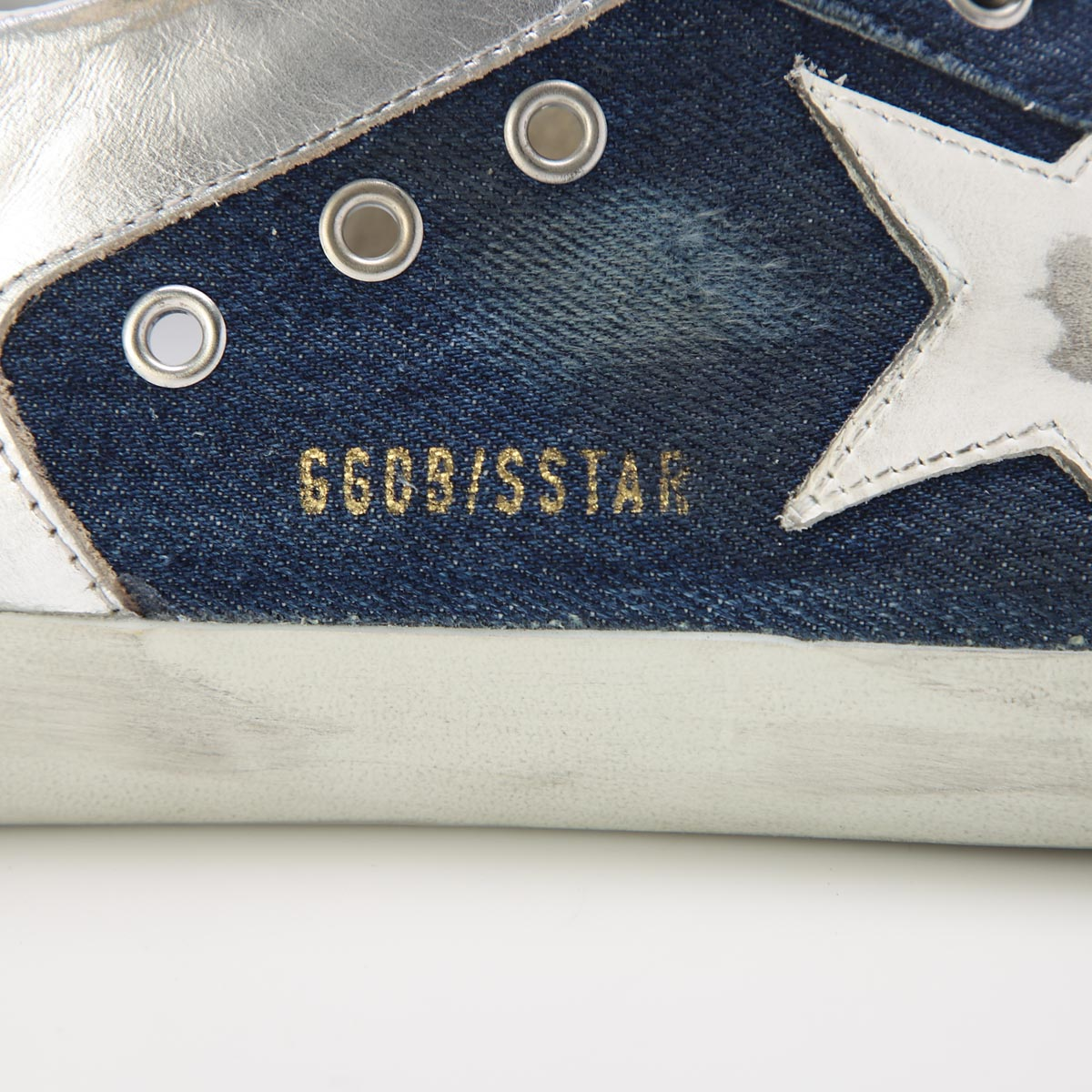 【アウトレット】Golden Goose Deluxe Brand ゴールデングース スニーカー/SUPER-STAR【大きいサイズあり】 メンズ