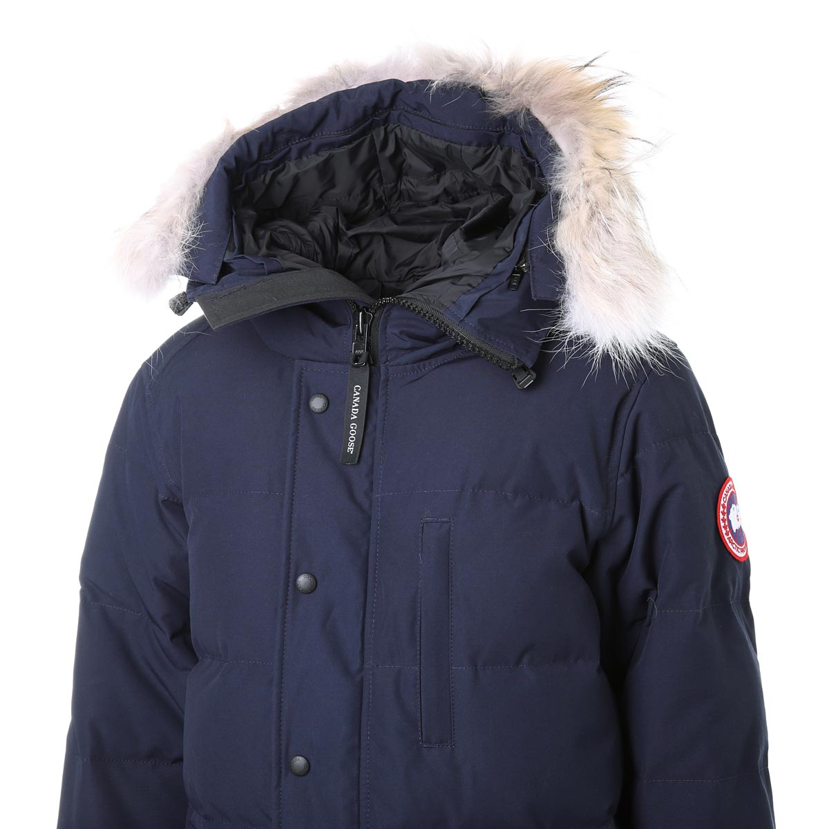 CANADA GOOSE カナダグース フーデッド ダウンジャケット/MENS CARSON PARKA カーソンパーカ メンズ