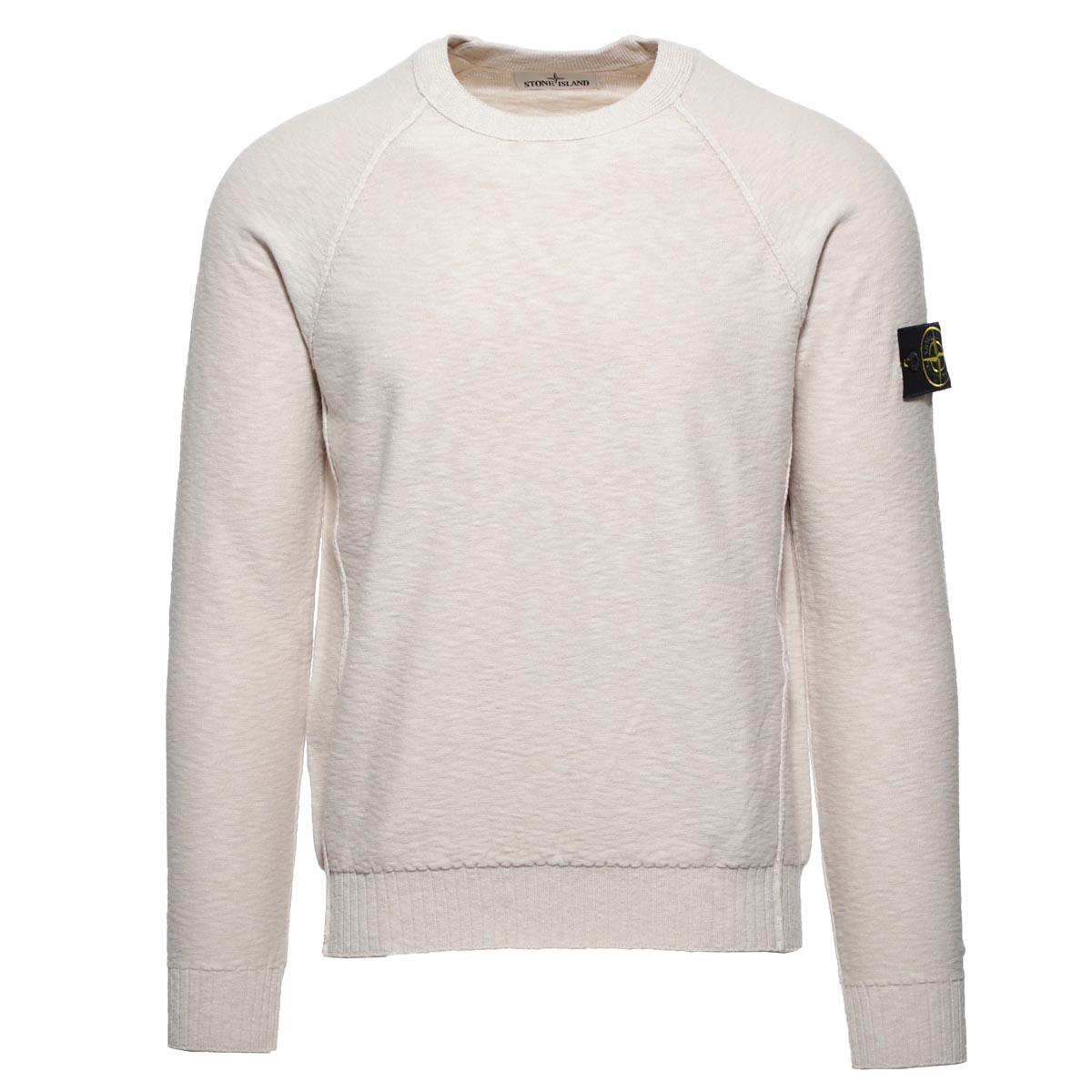 【アウトレット】【ラスト1点】STONE ISLAND  ストーンアイランド クルーネック セーター/503B0 CREWNECK SWEATER メンズ