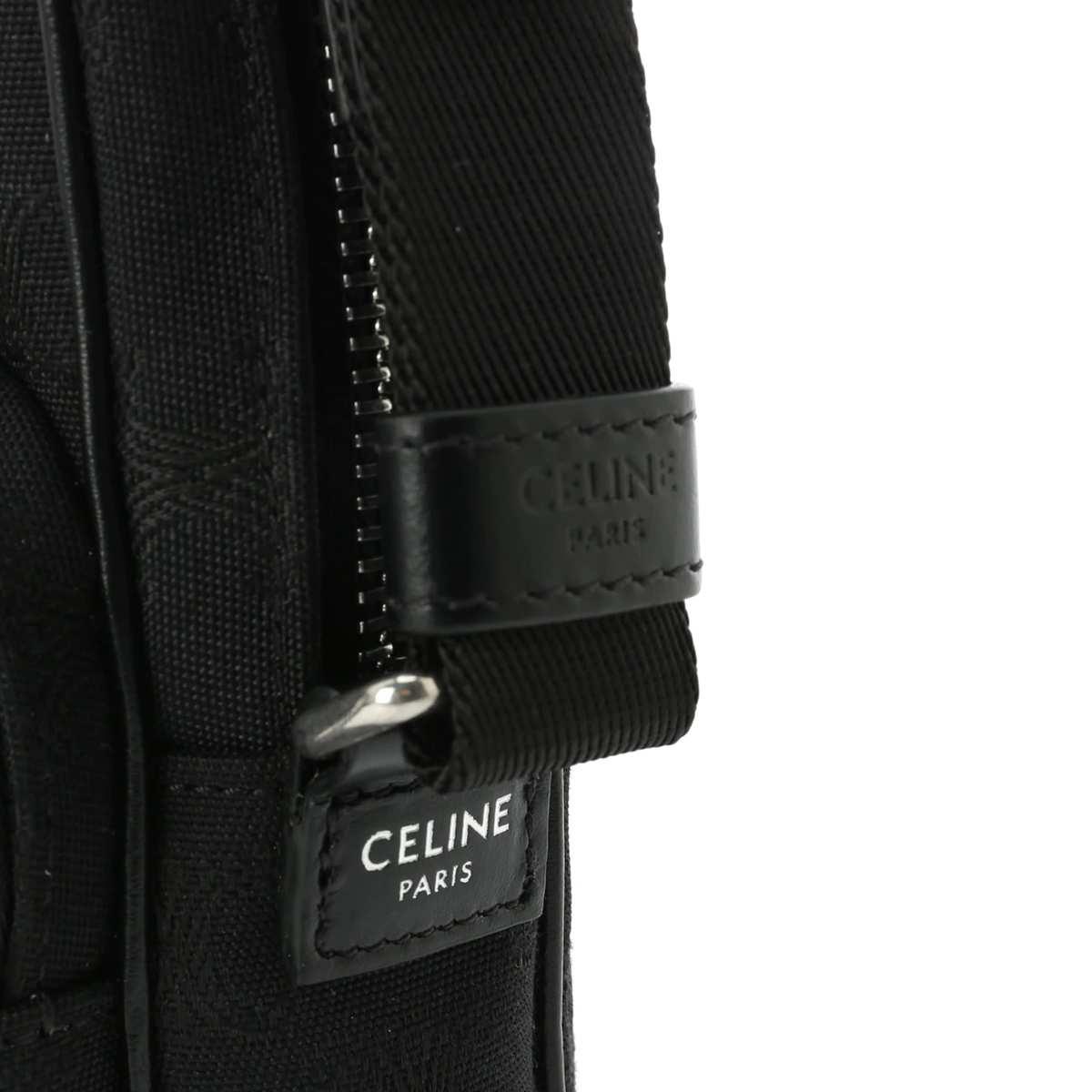 【大感謝祭】CELINE セリーヌ クロスボディバッグ/MINI POCKET メンズ