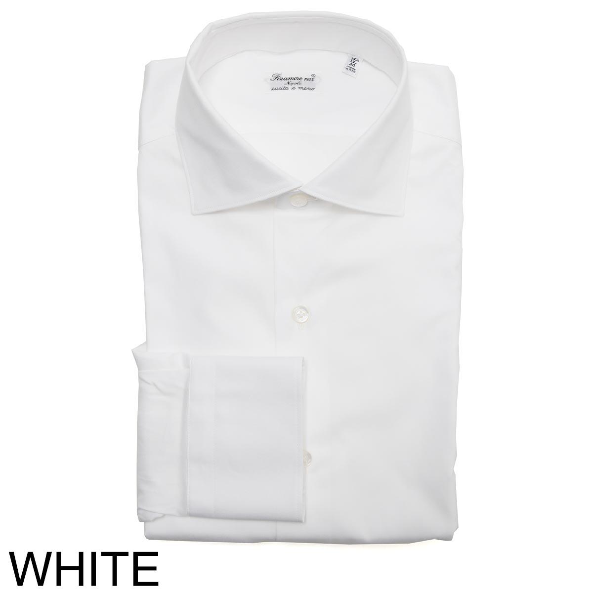 【タイムセール TOPS】FINAMORE フィナモレ ワイドカラーシャツ/ZANTE MILANO【大きいサイズあり】 メンズ