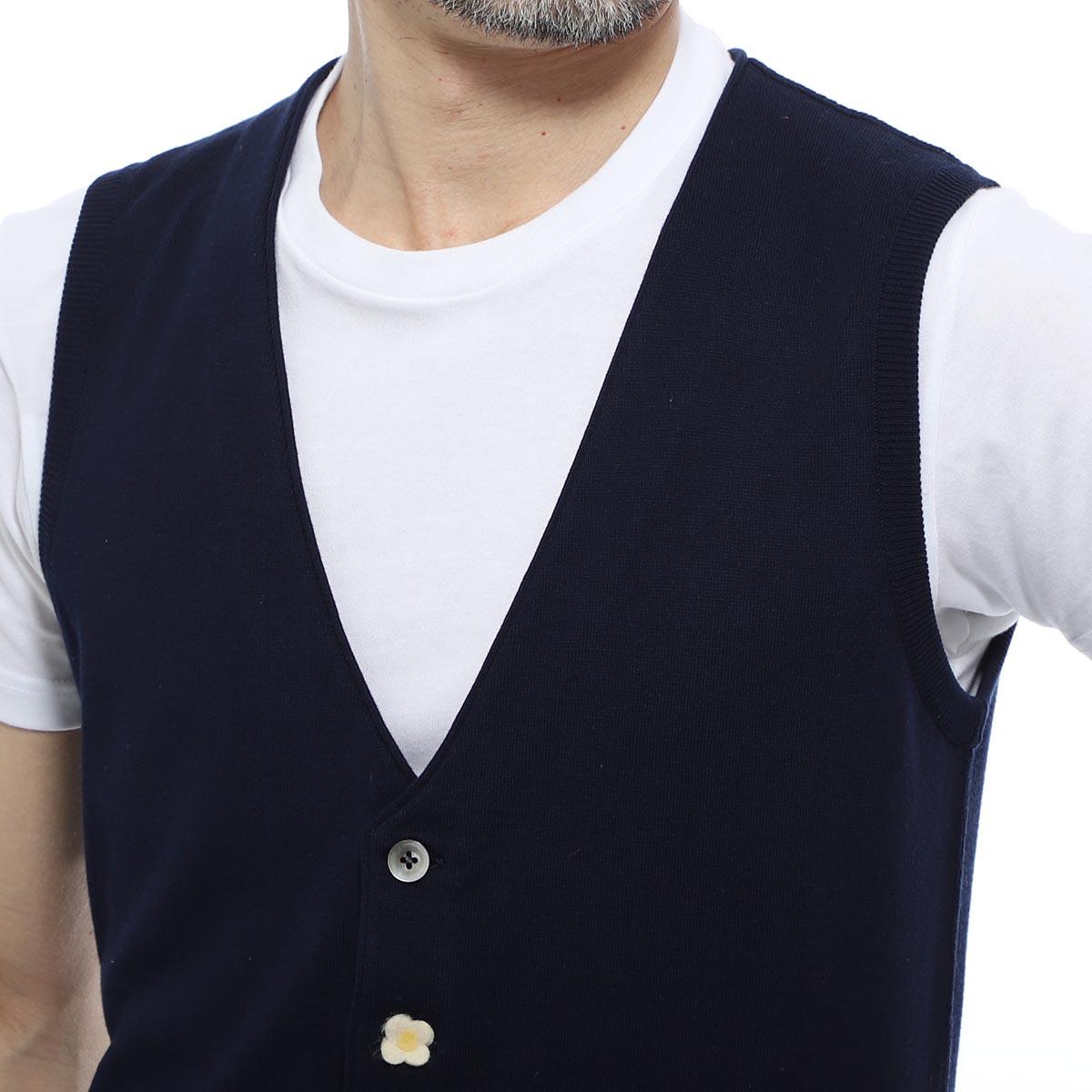 【1万円均一】【アウトレット】LARDINI ラルディーニ ベスト【大きいサイズあり】 メンズ