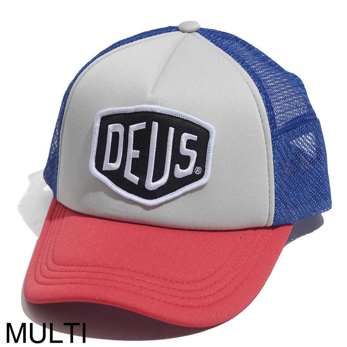 【タイムセール ACCS】Deus Ex Machina デウス ベースボールキャップ/BAYLANDS TRUCKER ベイランド トラッカー メンズ