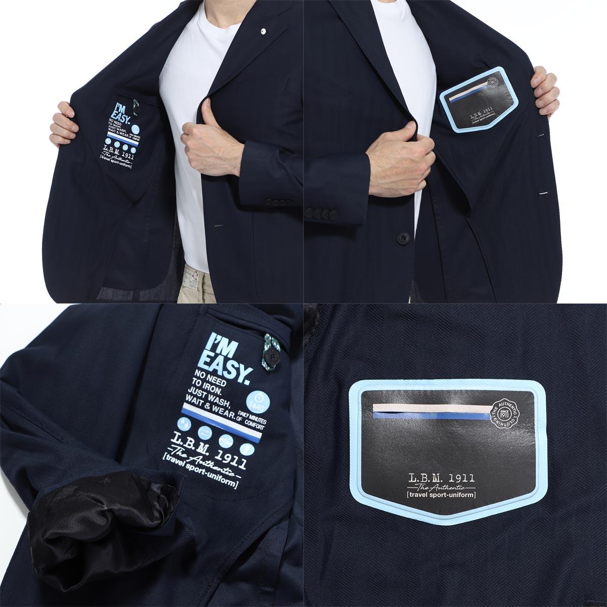 【タイムセール TOPS】【アウトレット】LBM1911 エルビーエム1911 2つボタン ジャケット /FLY SLIM メンズ