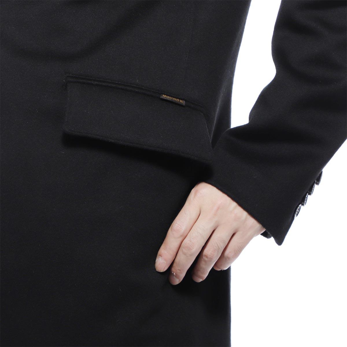 【タイムセール TOPS】【アウトレット】MOORER ムーレー ライナー付きチェスターコート/HARRIS【大きいサイズあり】 メンズ