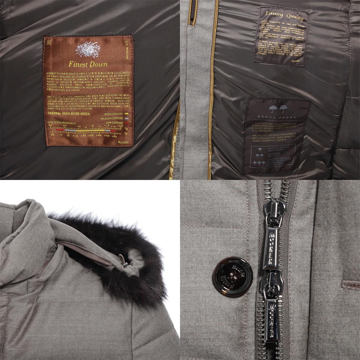 MOORER ムーレー ダウンジャケット/MORESCO-LL1 モレスコ【大きいサイズあり】 メンズ