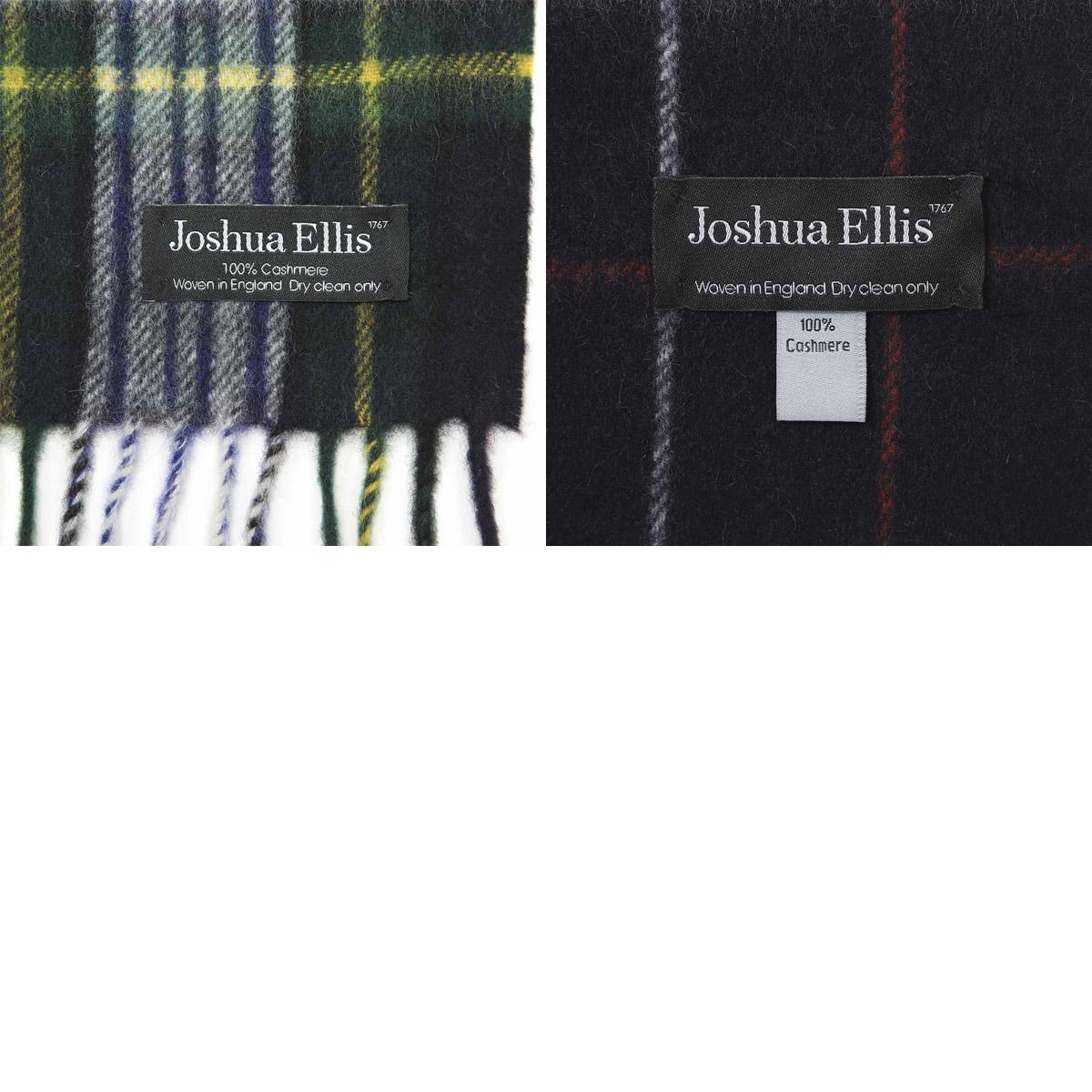 【タイムセール ACCS】Joshua Ellis ジョシュアエリス カシミアマフラー/マフラー/CP レディース