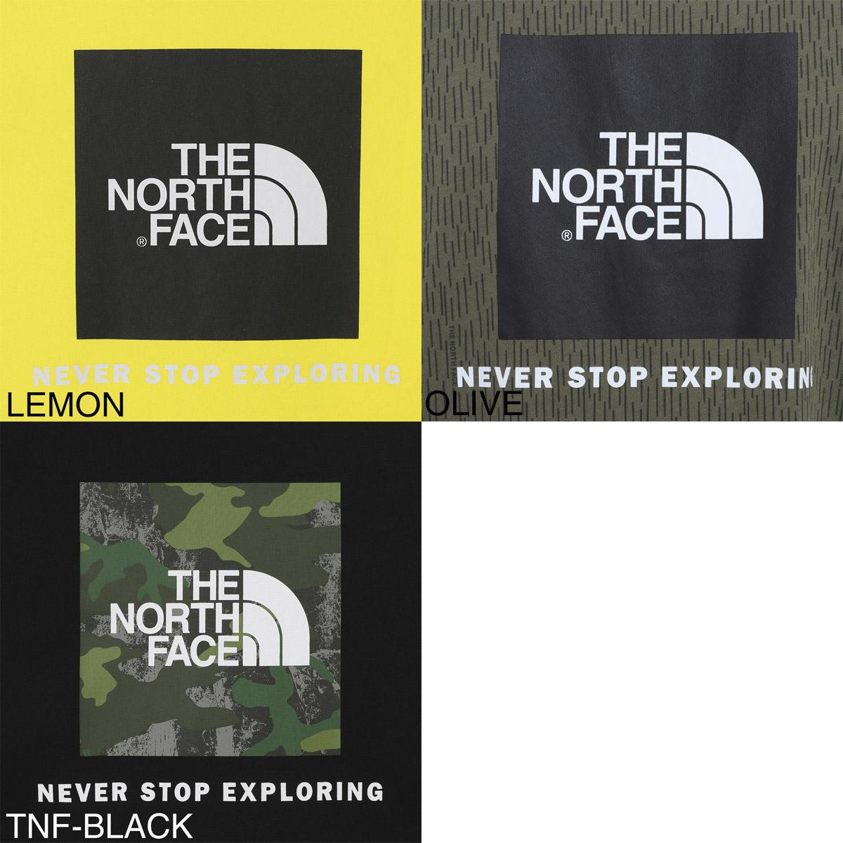 THE NORTH FACE ノースフェイス クルーネックTシャツ/RED BOX TEE メンズ