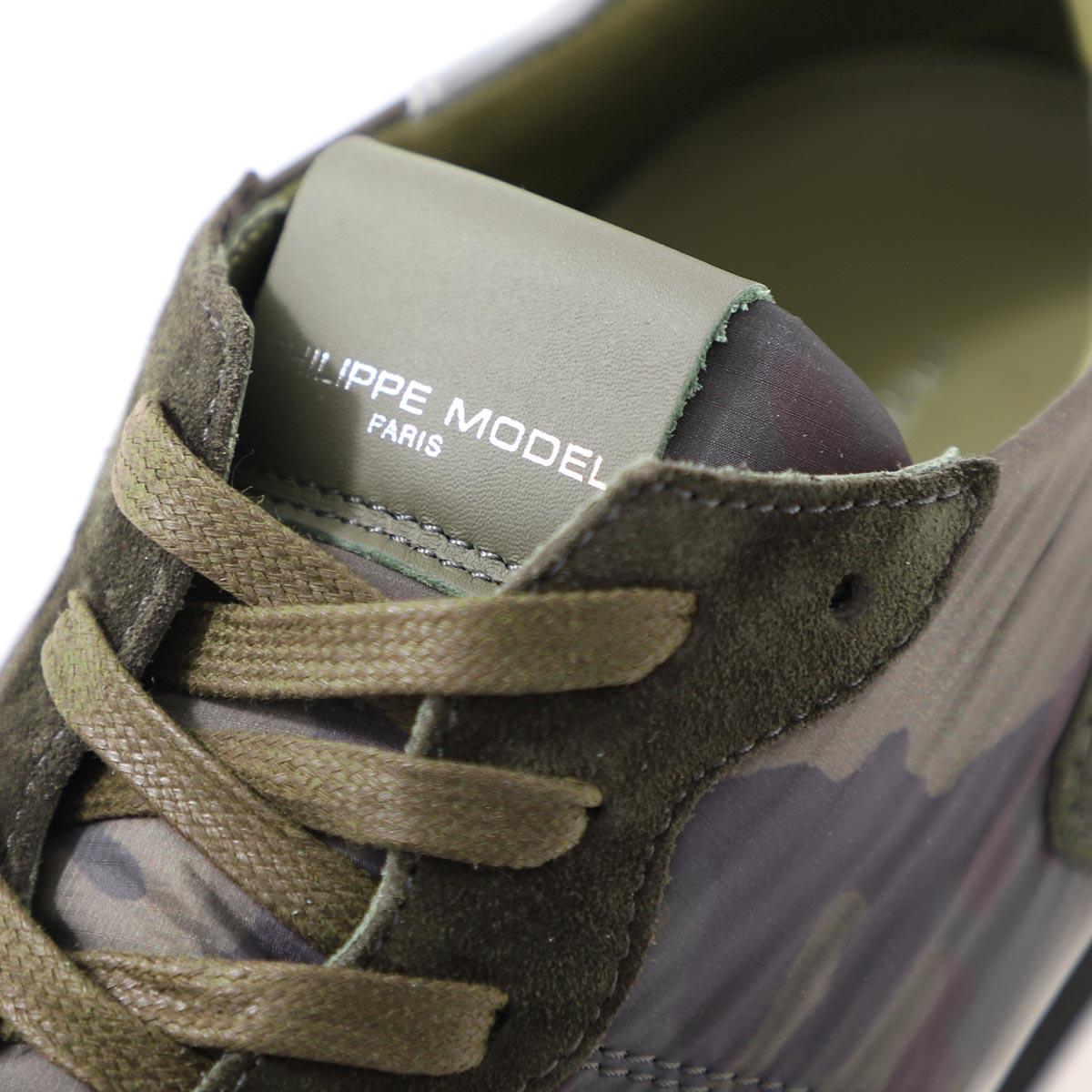 PHILIPPE MODEL PARIS フィリップモデル スニーカー/TRPX L U CAMOFLAGE【大きいサイズあり】 メンズ