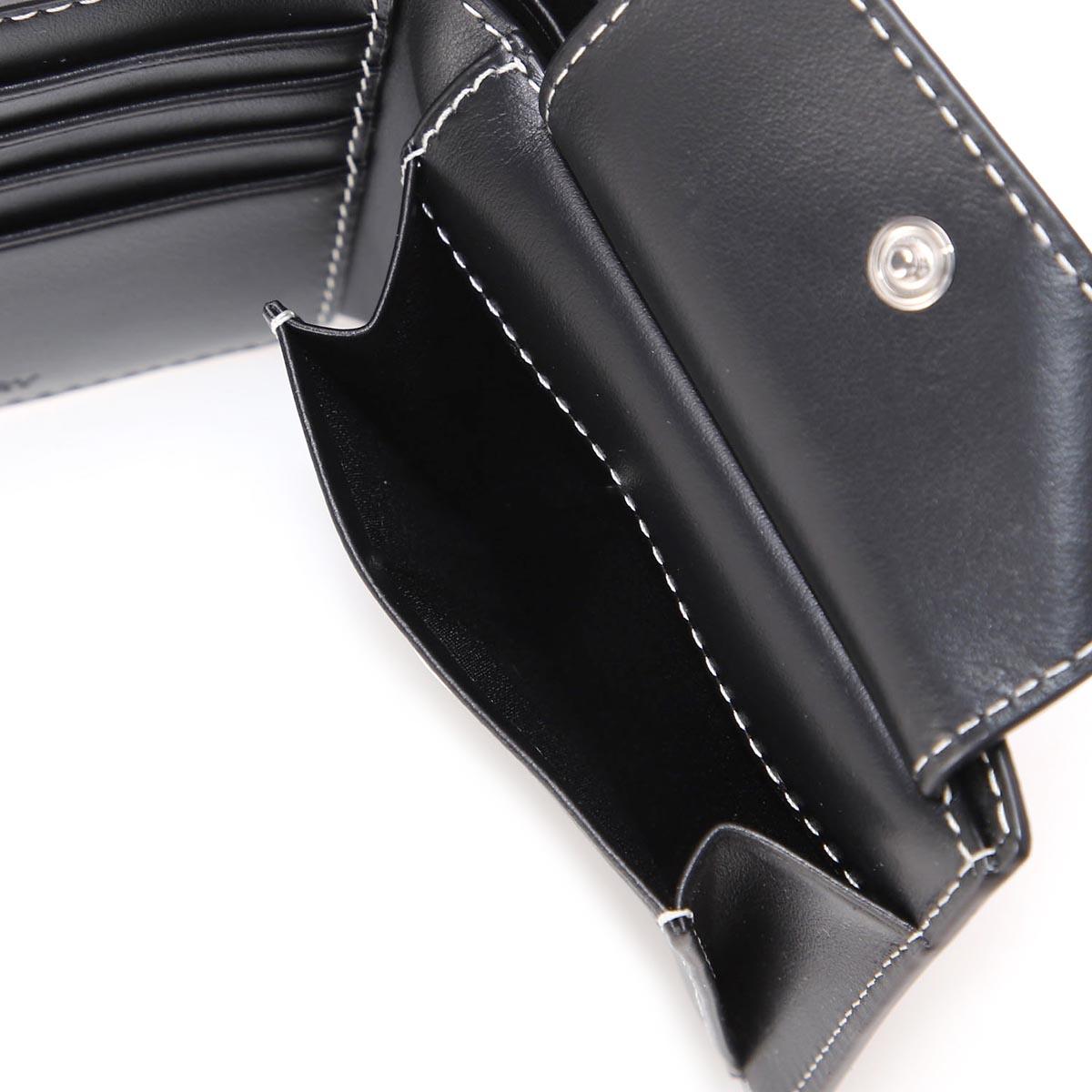 【タイムセール】BURBERRY バーバリー 2つ折り財布 小銭入れ付き メンズ