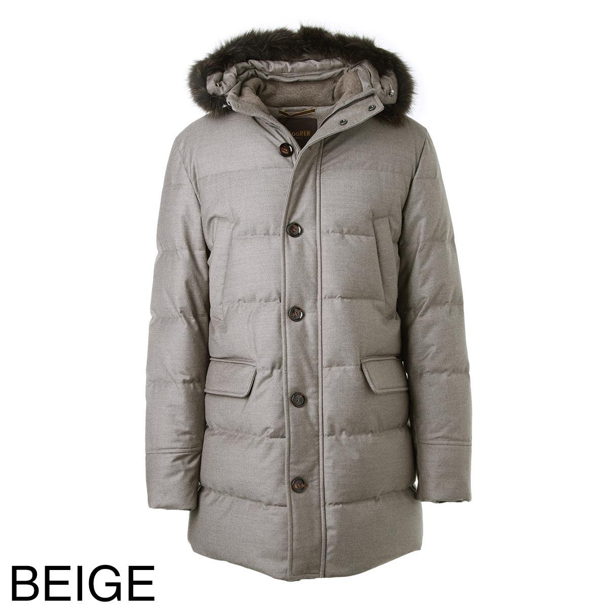 【タイムセール TOPS】MOORER ムーレー ダウンジャケット/BARBIERI-LL メンズ