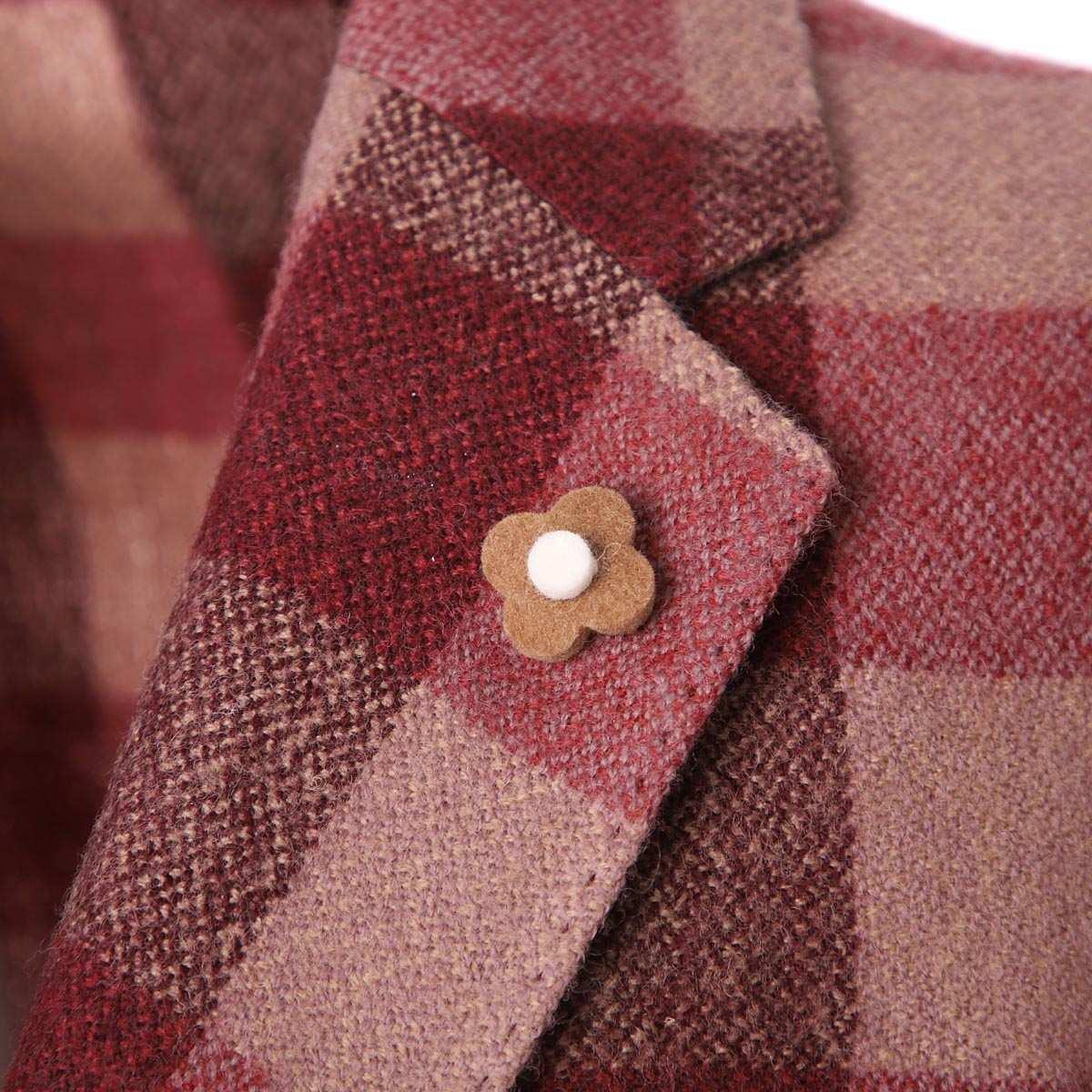 【タイムセール TOPS】LARDINI ラルディーニ 3つボタン ジャケット/EASY JAPAN FIT【大きいサイズあり】 メンズ