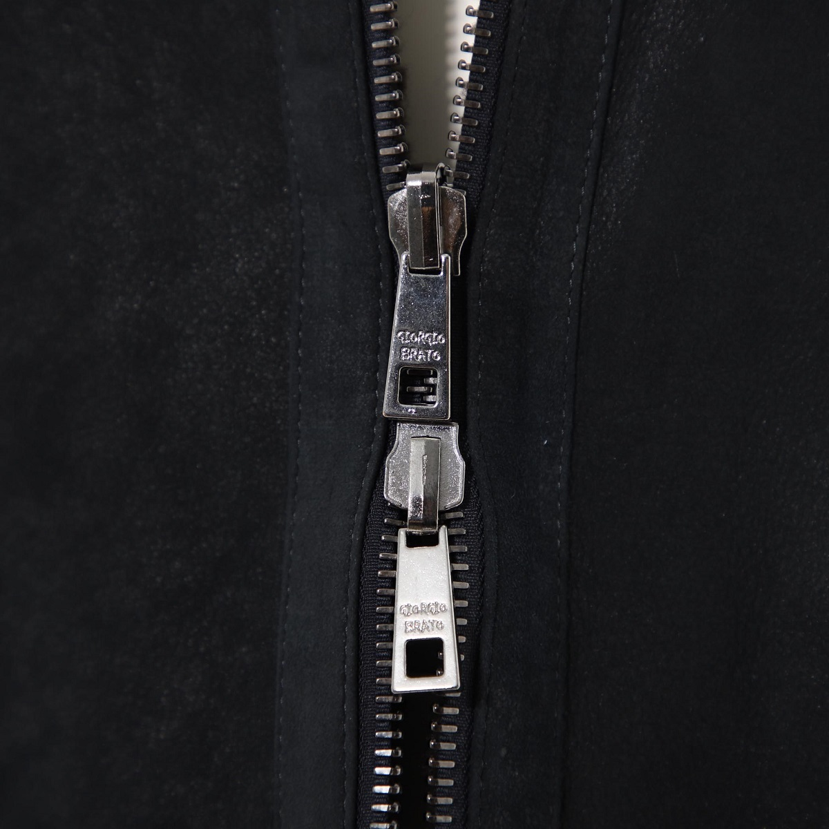 【アウトレット】GIORGIO BRATO ジョルジオブラット レザーコート 2way/リバーシブル メンズ