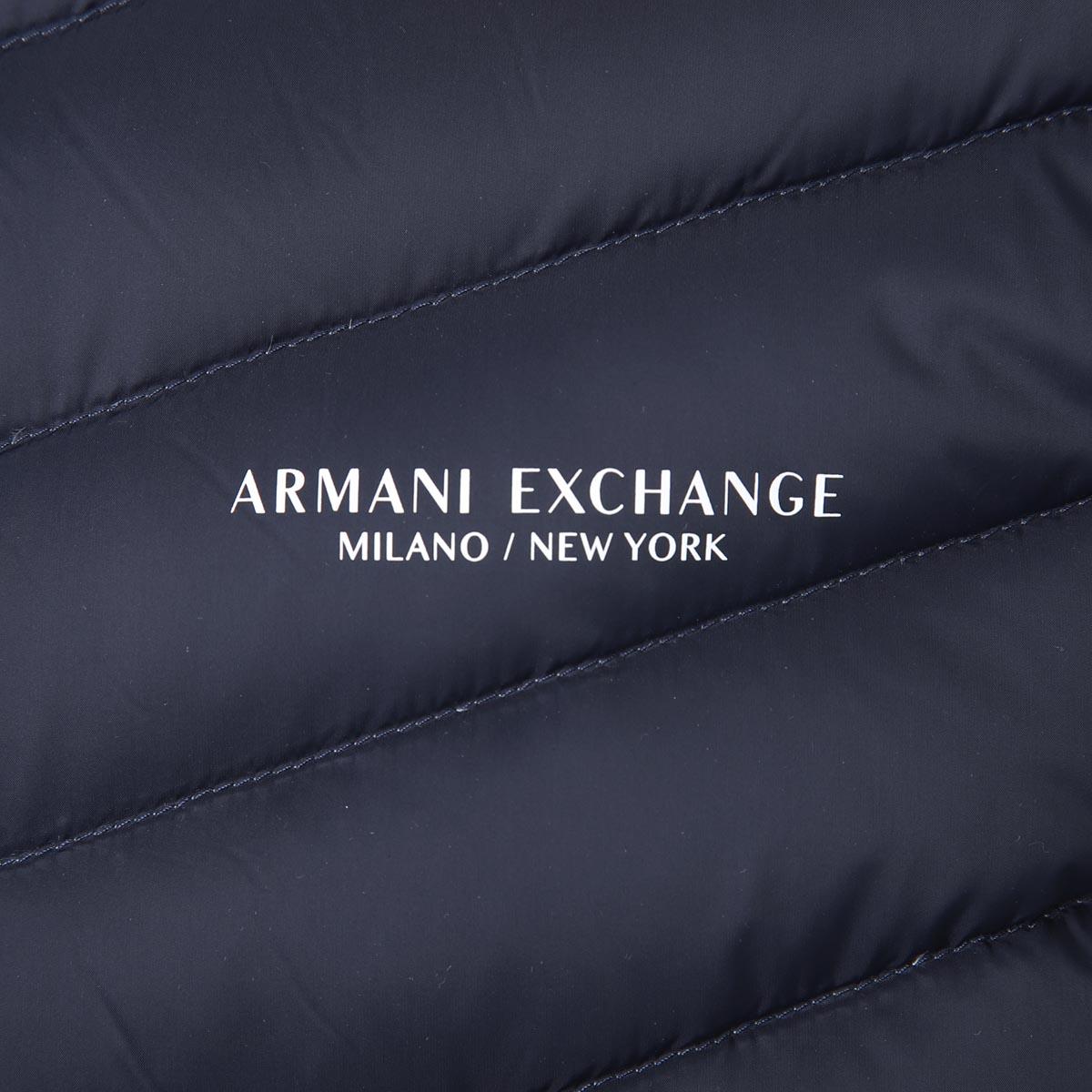 ARMANI EXCHANGE アルマーニエクスチェンジ ダウンブルゾン メンズ【WLCP】