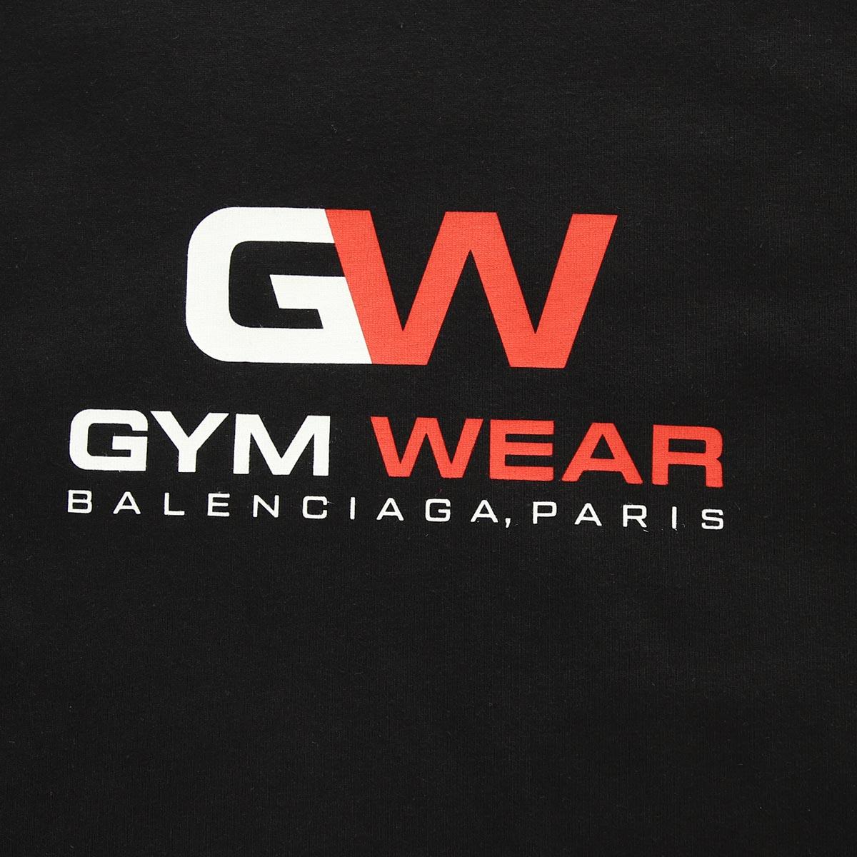 【大感謝祭】【アウトレット】BALENCIAGA バレンシアガ クルーネックTシャツ/GYM WEAR レディース