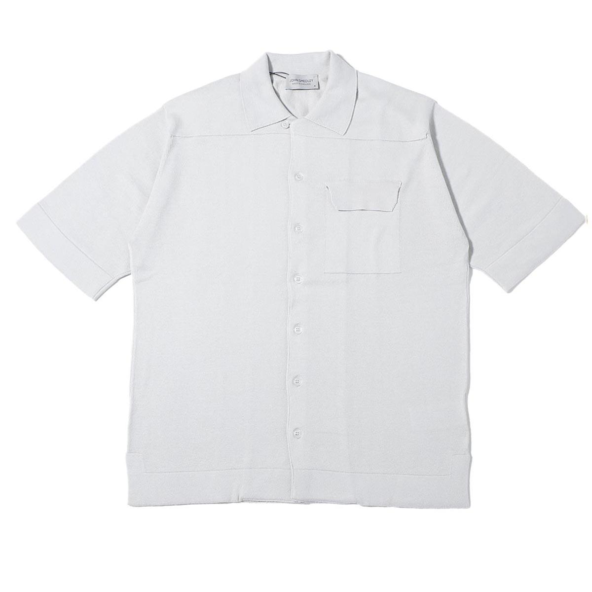 【アウトレット】JOHN SMEDLEY ジョンスメドレー 半袖ニットシャツ/CREEK クリーク 24ゲージ メンズ