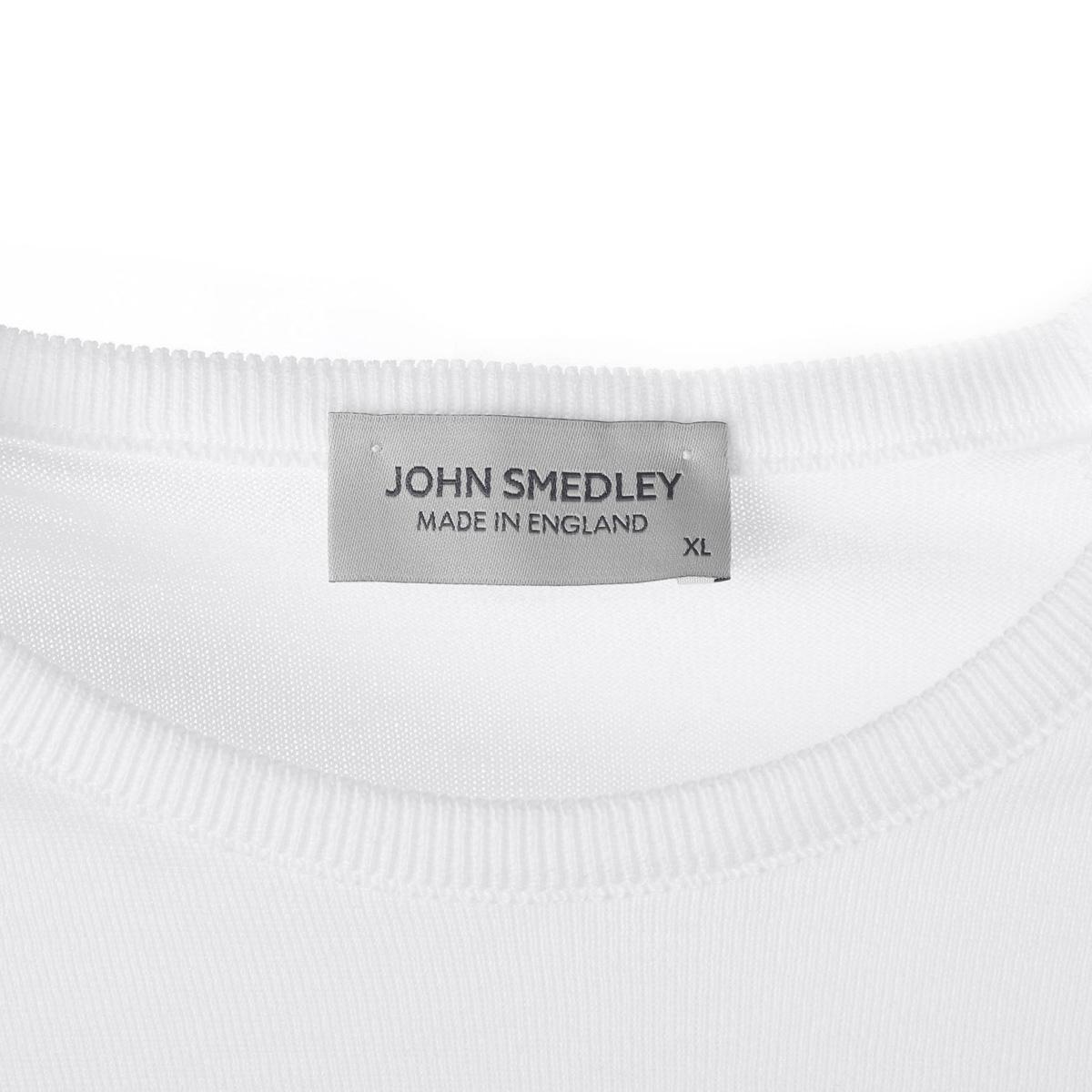 JOHN SMEDLEY ジョンスメドレー クルーネック 長袖ニット/HATFIELD ハットフィールド 30ゲージ メンズ