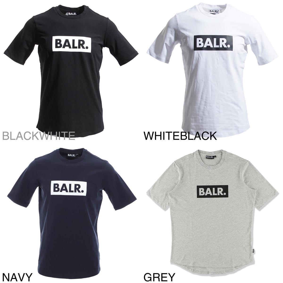 【アウトレット】【ロングセラー】BALR. ボーラ― クルーネック Tシャツ/CLUB T-SHIRT ATHLETIC FIT クラブ Tシャツ アスレチック フィット メンズ