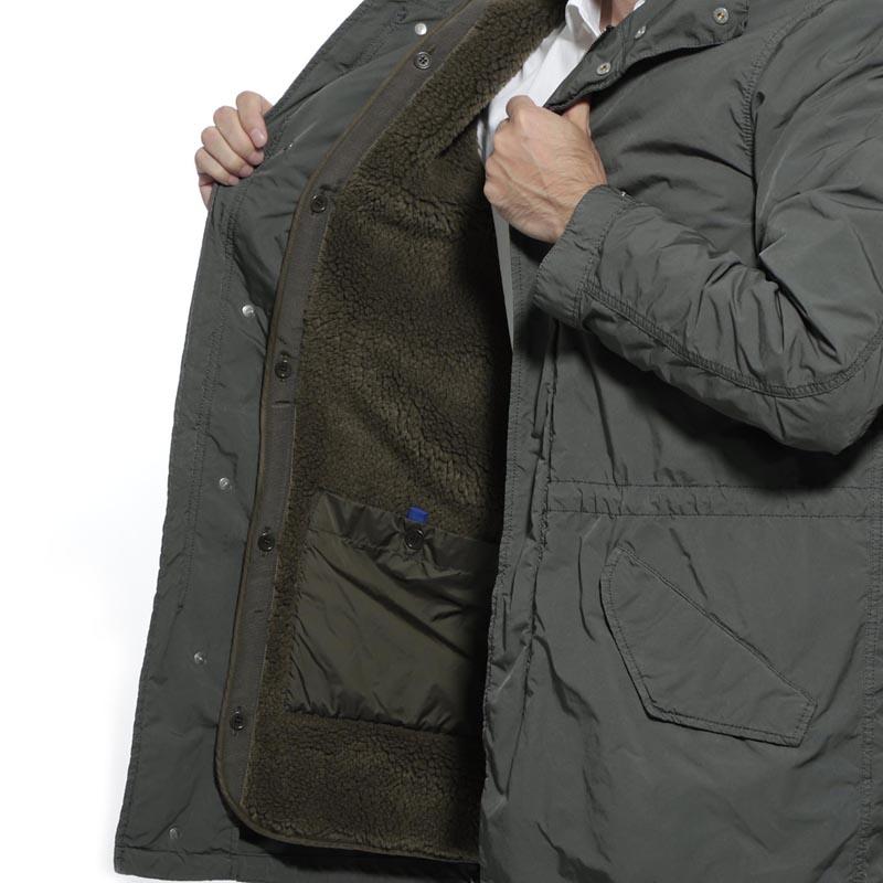 【アウトレット】【ラスト1点】ASPESI  アスペジ フーデッド コート/PARKETTONE PARKA メンズ