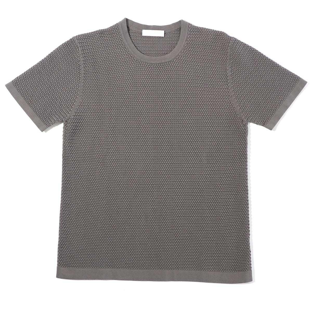 【アウトレット】Cruciani クルチアーニ 半袖ニットTシャツ メンズ