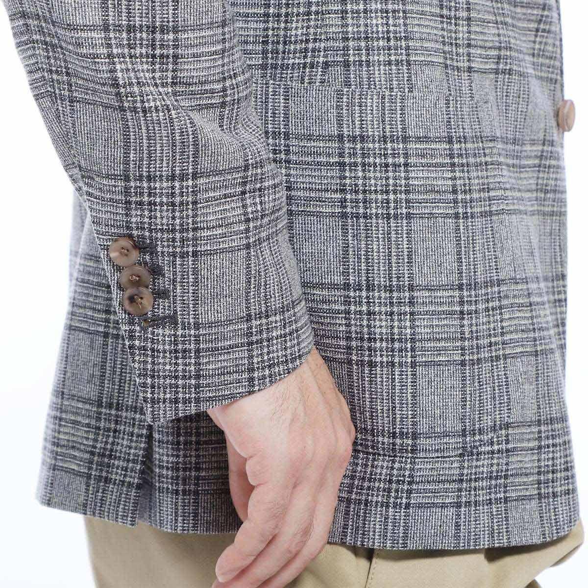 【3万円均一】【アウトレット】【ラスト1点】LARDINI ラルディーニ 3つボタンジャケット/EASY JAPAN FIT メンズ