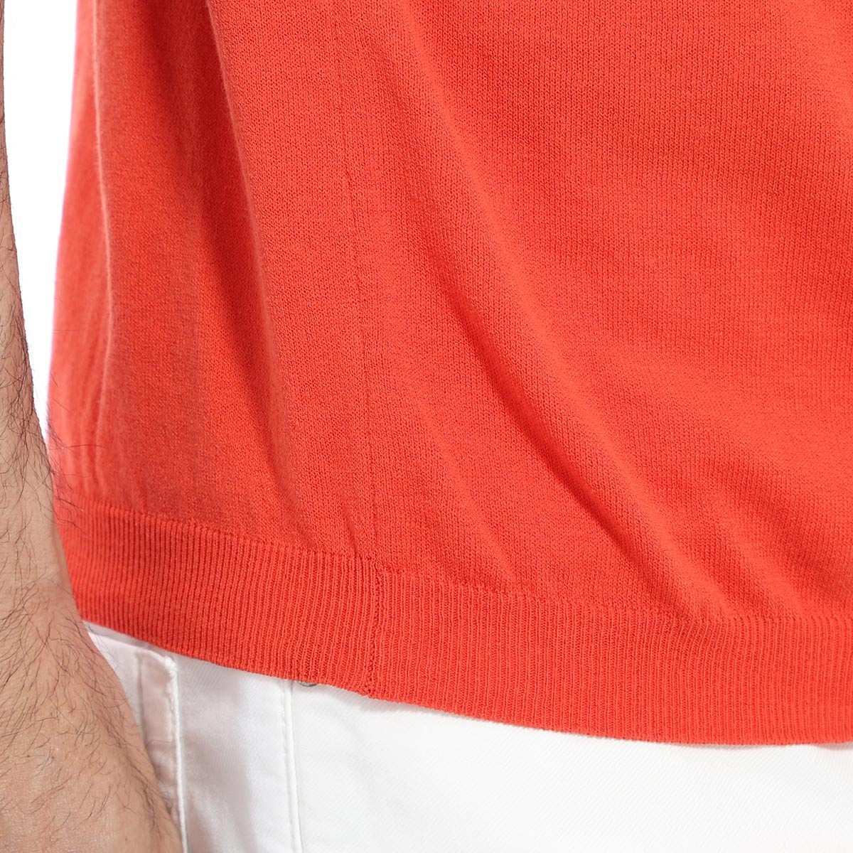 【アウトレット】HERITAGE ヘリテージ クルーネック半袖ニット【大きいサイズあり】 メンズ