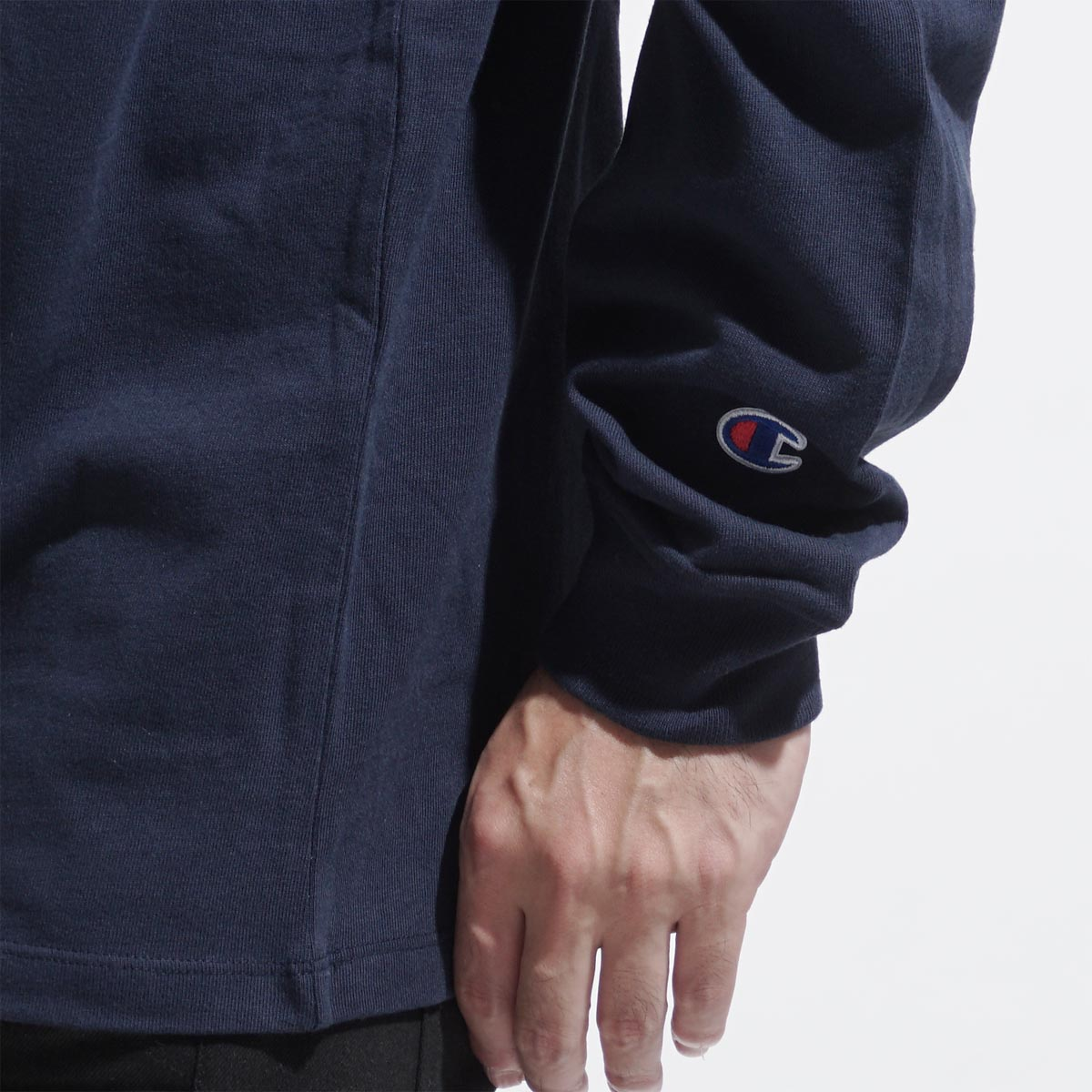 【第520回チャリティー企画】Champion チャンピオン クルーネック 長袖Tシャツ/HERITAGE TEE メンズ