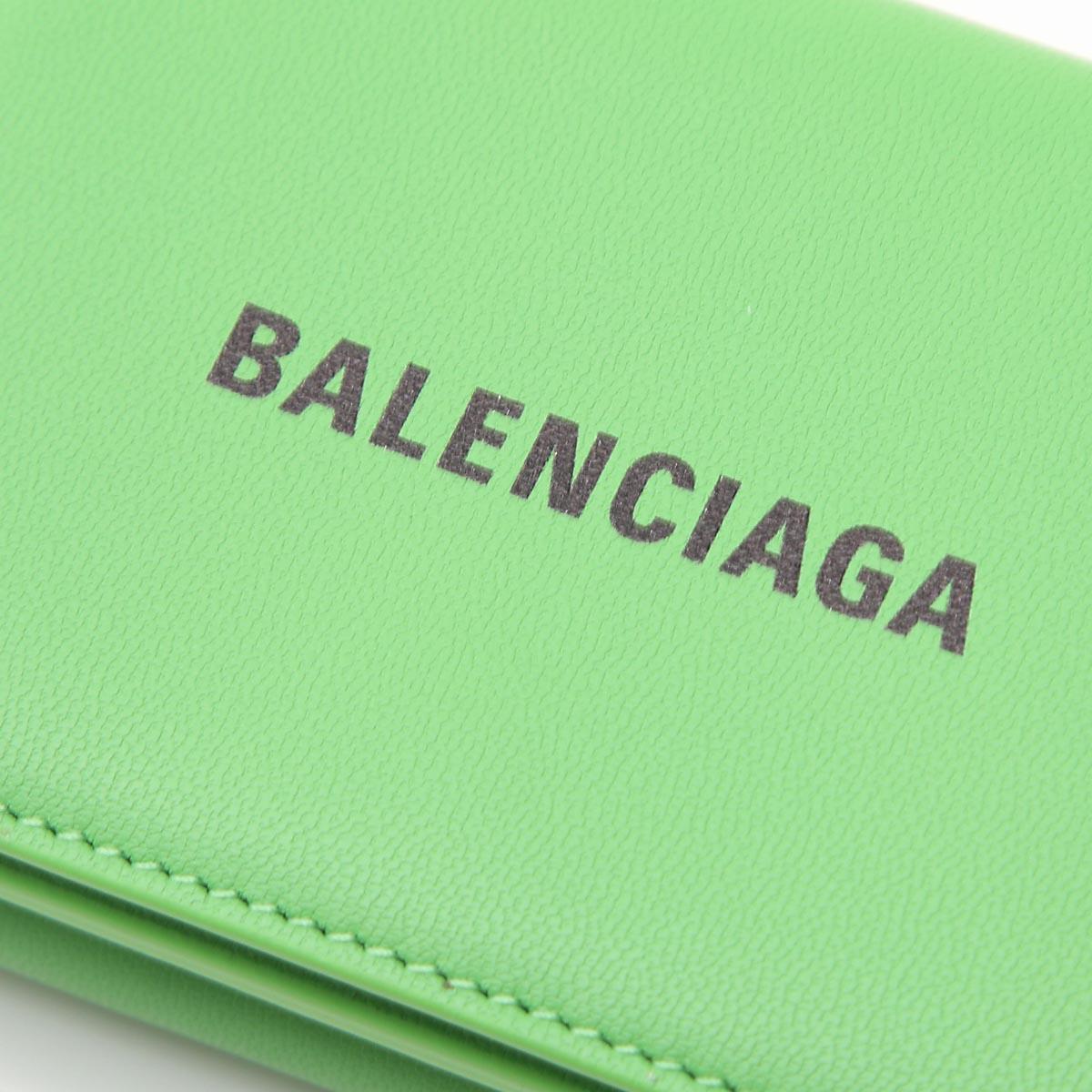 BALENCIAGA バレンシアガ 3つ折り財布 小銭入れ付き/CASH MINI WALLET メンズ