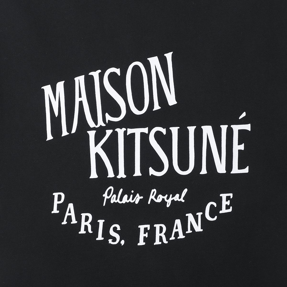 【アウトレット】【ラスト1点】MAISON KITSUNE メゾンキツネ クルーネックTシャツ/TEE-SHIRT PALAIS ROYAL パレ ロワイヤル メンズ