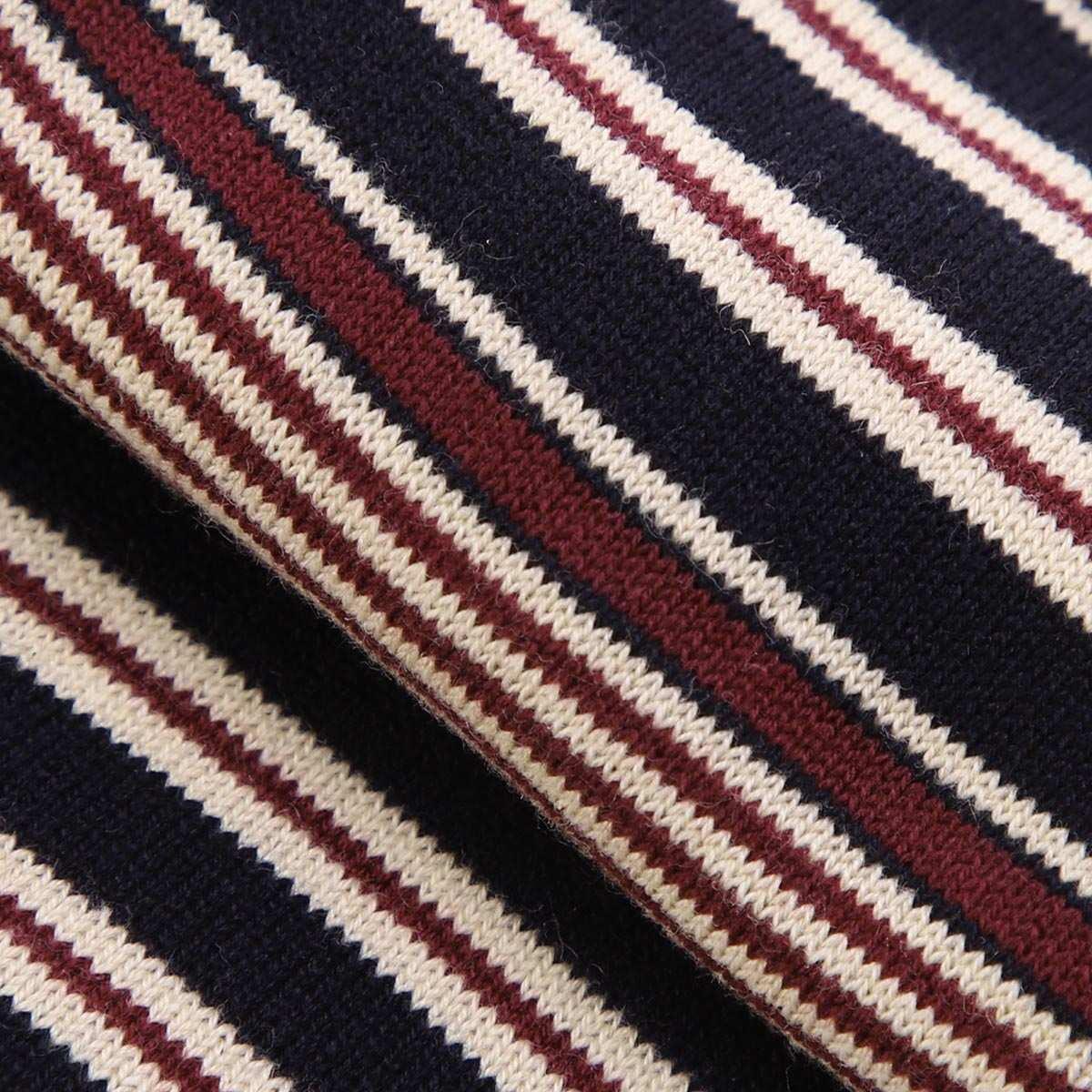 【ネコポス対応(3点まで)】HALISON ハリソン 靴下/ソックス/マルチボーダー 相当サイズ:25~27cm【返品交換不可】 メンズ
