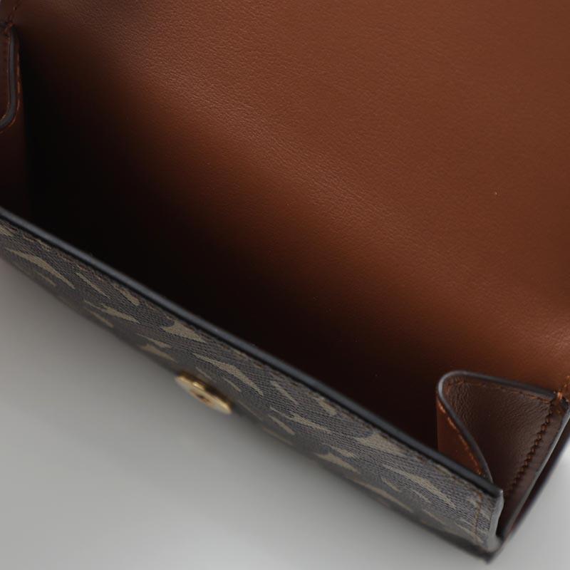BURBERRY バーバリー 3つ折り 財布 小銭入れ付き/MONOGRAM モノグラム メンズ