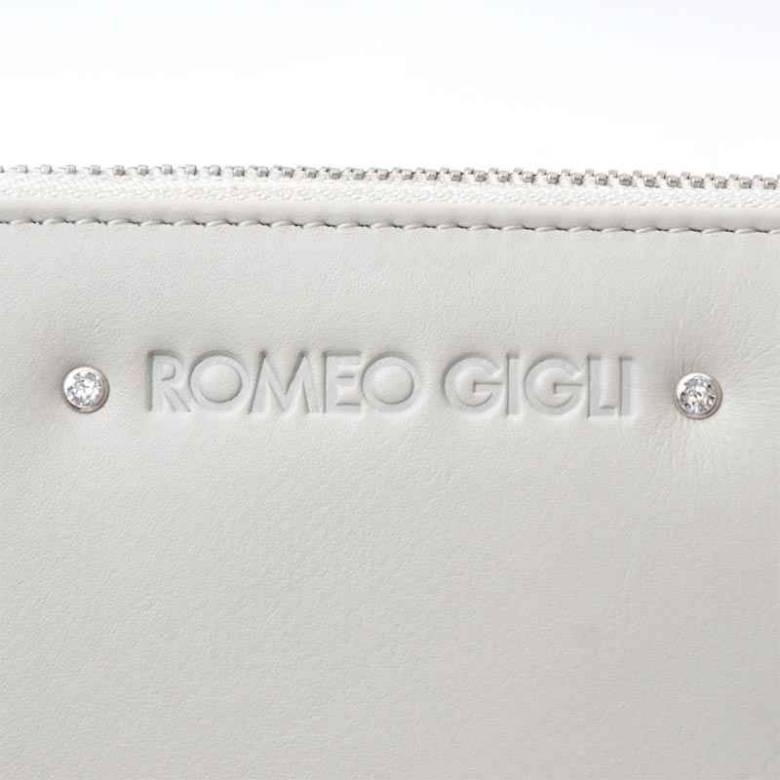 ROMEO GIGLI ロメオジリ ラウンドファスナー 長財布 小銭入れ付き/LEATHER レディース