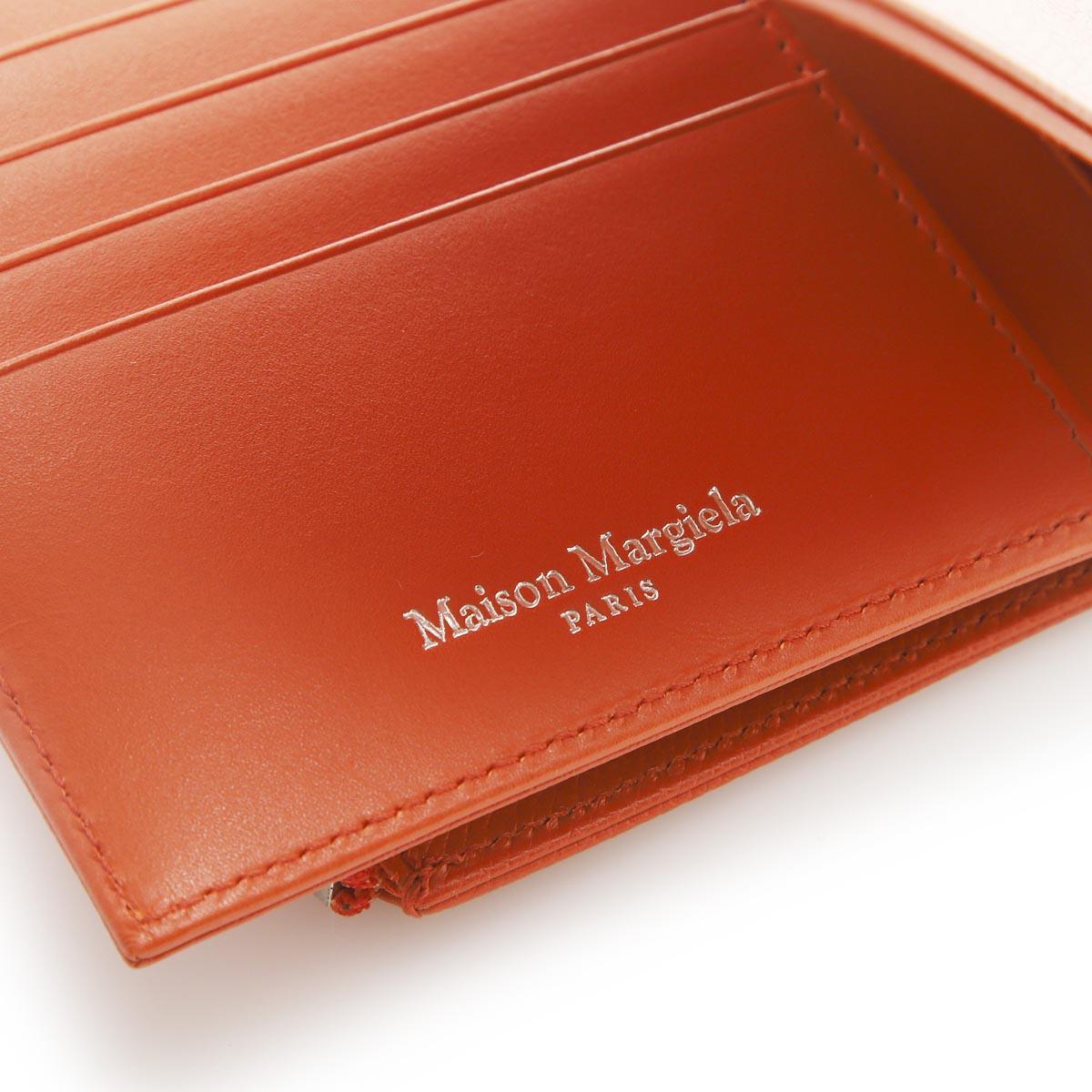 Maison Margiela メゾンマルジェラ 2つ折り財布 小銭入れ付き/11 女性と男性のためのアクセサリーコレクション メンズ