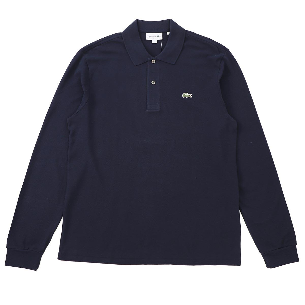 【アウトレット】LACOSTE ラコステ 長袖 ポロシャツ/Long-sleeve Lacoste Classic Fit L.12.12 Polo Shirt【大きいサイズあり】 メンズ