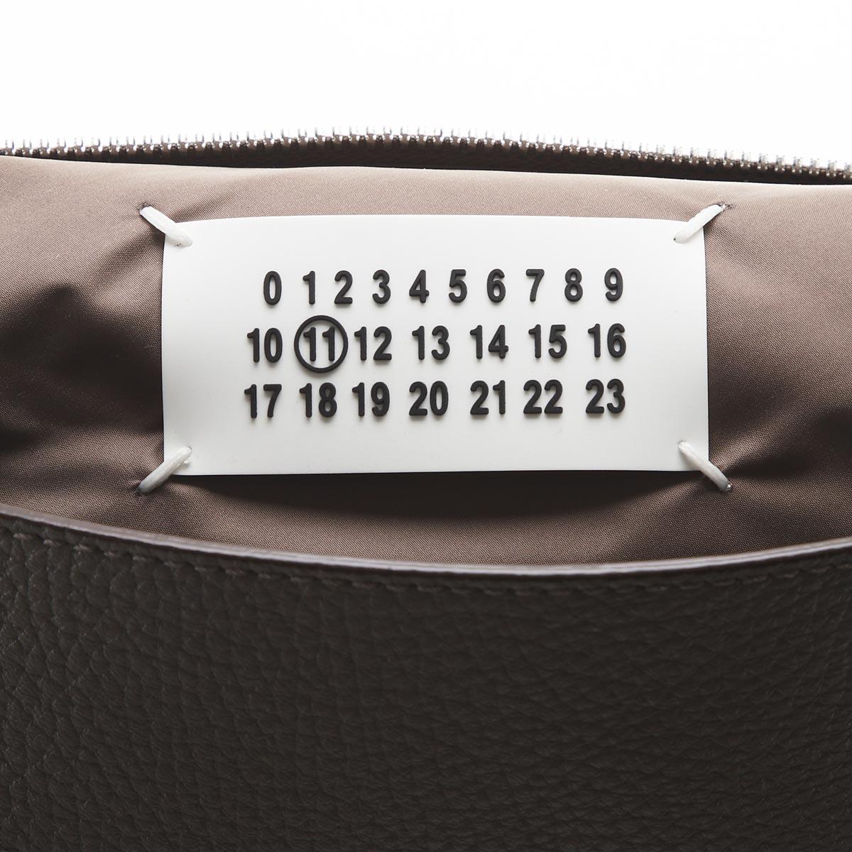 Maison Margiela メゾンマルジェラ クロスボディバッグ 2way/ショルダーバッグ クラッチバッグ/11 女性と男性のためのアクセサリーコレクション 5AC メンズ