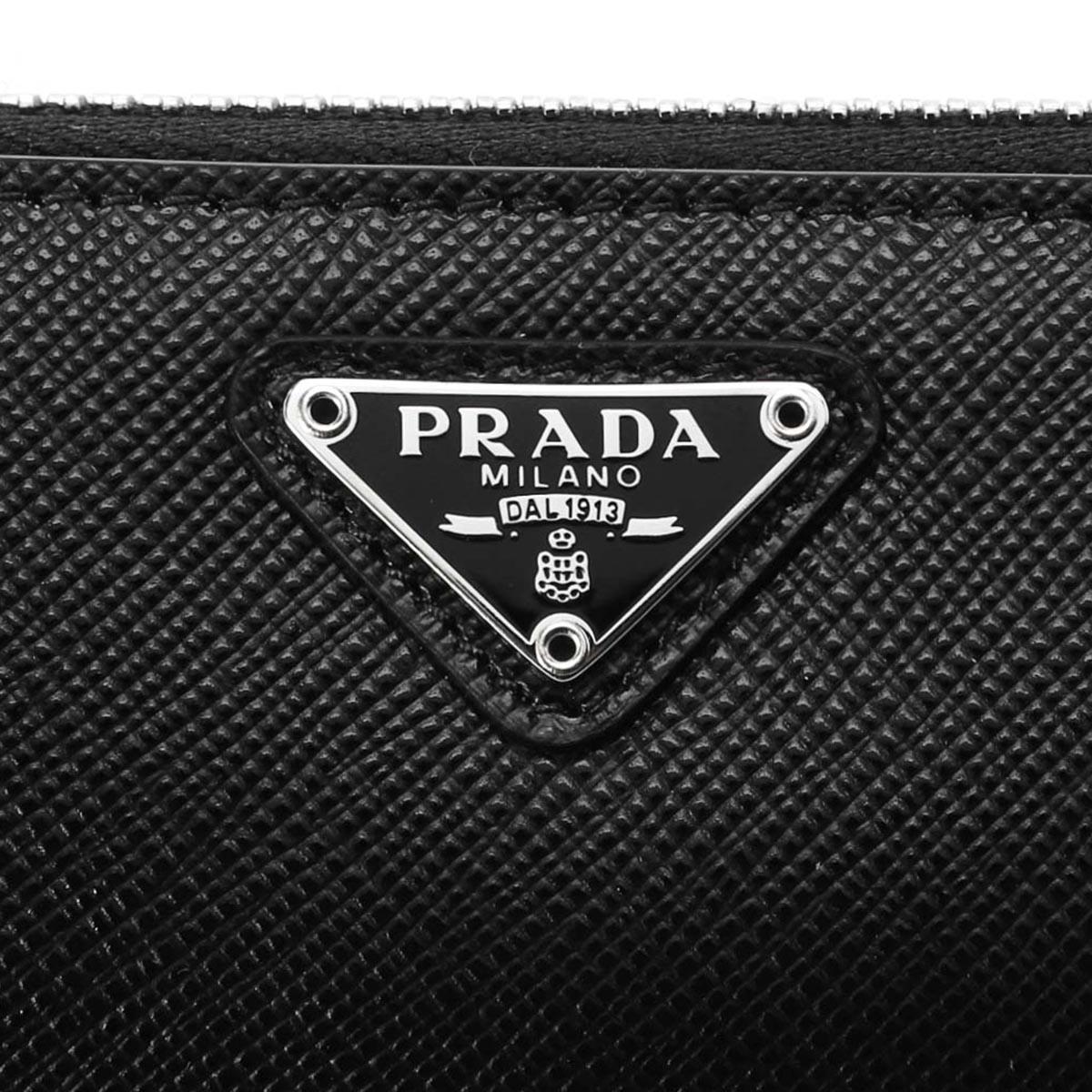PRADA プラダ ペンケース/SAFFIANO TRIANGLE メンズ